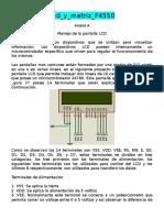 Lcd y Matrix F4550