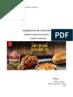 Analiza Reclama McDonald's