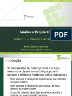 APOO Aula1.5 ClassesAbstratas