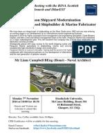20161107 - Ferguson Shipyard Modernisation