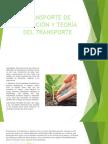 Transporte de Nutrición y Teoría Del Transporte