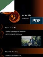 yo yo ma presentation pdf