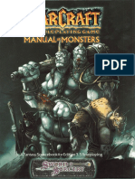 WArcraft RPG - Manual of Monsters