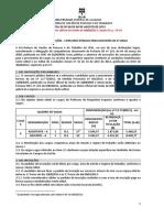 Edital 60 UFAL 2013