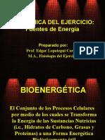 Bioquimica del Ejercicio