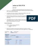 Vendor Evaluation in Mm