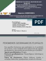 Casos Nacionales de Geodinamica Fluvial y Marina Final