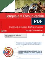 Clase 2 Comprendo La Relación de Ideas en El Texto. Manejo de Conectores 2016 CES