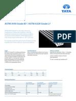 Tata Steel - ASTM A193 B7 - A320 L7 Datasheet