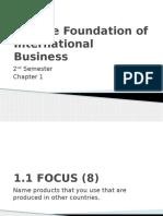 International Business Chapter 1