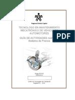 Guía de Actividades Sistema de Frenos Número 2