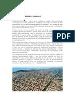 Planejamento Urbano Eregional II - Trabalho 01.Docx