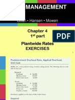 Ch04_plantwide Rates_normal Costing Ppt - 1st Part Exercises Extra Solutions Students