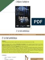 L'Affaire Tailleferre _ 2-Le Bel Ambitieux