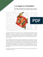 El Bitcoin en Colombia