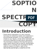 Flame Atomic Absoption Spectroscopy(Faas)