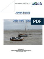 Tidal Preditions 2016
