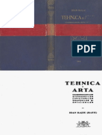 Tehnica Si Arta Ceasornicarilor Giuvaergiilor Tintutorilor Gravorilor Si Opticienilor Ioan Ratiu Ratz