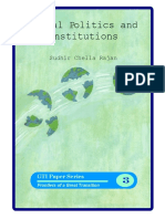 Global Politics and Institutions