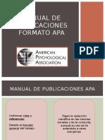 Publicaciones en formato APA