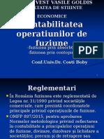 IV.contabilitatea Operatiunilor de Fuziune