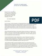 5 11 2017 - Gov Hogan Letter to FAA
