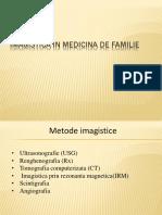 Imagistica in Medicina de Familie1
