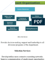 Department Organization
