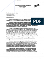 FERC's Response To Massachusetts US Senators Elizabeth Warren and Ed Markey