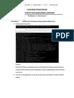 Laporan Praktikum Administrasi dan Manajemen Jaringan