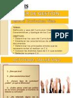 09 Curriculum Vitae Clase 3 2014