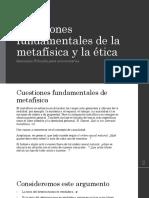 Láminas Cuestiones Fundamentales de La Metafísica y La Ética