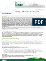 Planning Briefing Note - Affordable Housing and Viability SPG
