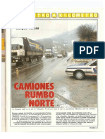Revista Tráfico - nº 43 - Abril de 1989. Reportaje Kilómetro y kilómetro