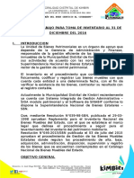 Plan de Trabajo Mensual Patrimonio 2017