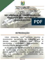 APRESENTAÇÃO de Maquinas e Motores
