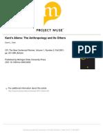 Kant's Aliens