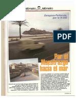 Revista Tráfico - nº 33 - Mayo de 1988. Reportaje Kilómetro y kilómetro