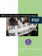 Santa Clara County - What to Know About Immigration Raids