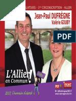 Jean-Paul Dufrègne & Valérie Gouby