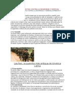 Factores Que Atentan Contra La Seguridad y Defensa