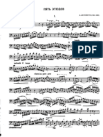 Domenico Dragonetti - 5 Etüden Für Kontrabass