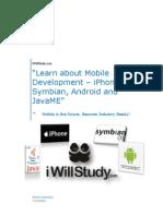 Seminar and Workshop for understanding Mobile Industry & Dev Efforts