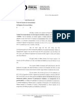 Requerimiento de la UFISES al FGS de la Anses