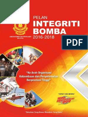 Buku Pelan Integriti Bomba