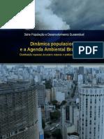 Dinâmica populacional e a agenda ambiental brasileira