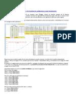 Obtener Línea de Tendencia Polinómica Matricialmente