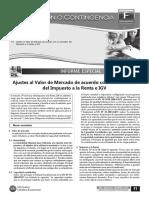 Ajte Al Valor de Mercado de Acuerdo Con La Normativa Del IR e IGV-2da Feb 2012