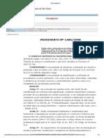Provimento CSM n. 1496 - Alienação Por Iniciativa Particular