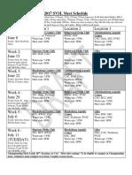2017 meet schedule with meet boxes